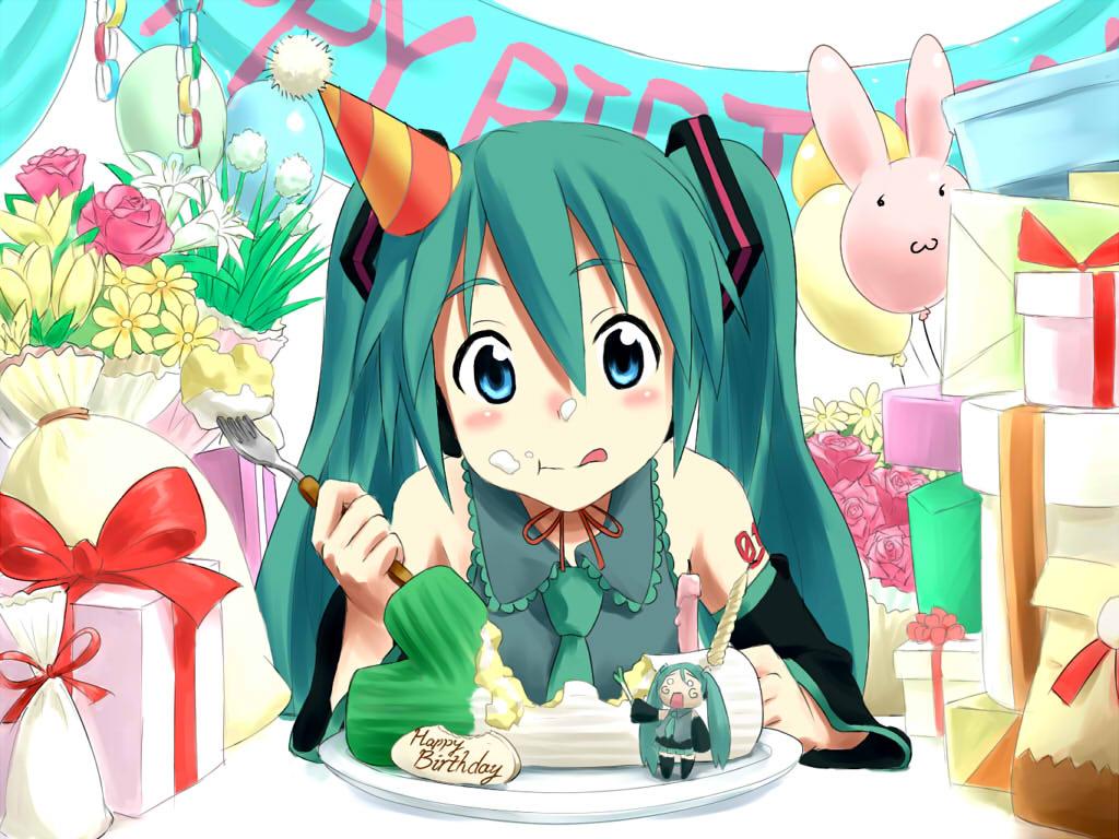 Аниме картинки поздравления к дню рождения